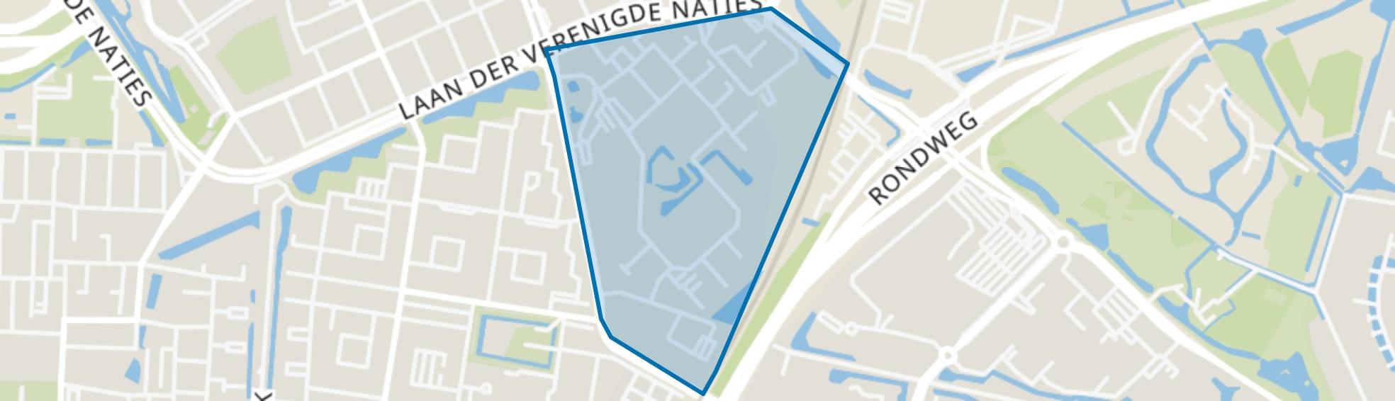 Zuidhoven, Dordrecht map