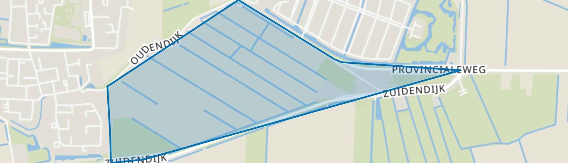 Zuidpolder, Dordrecht map