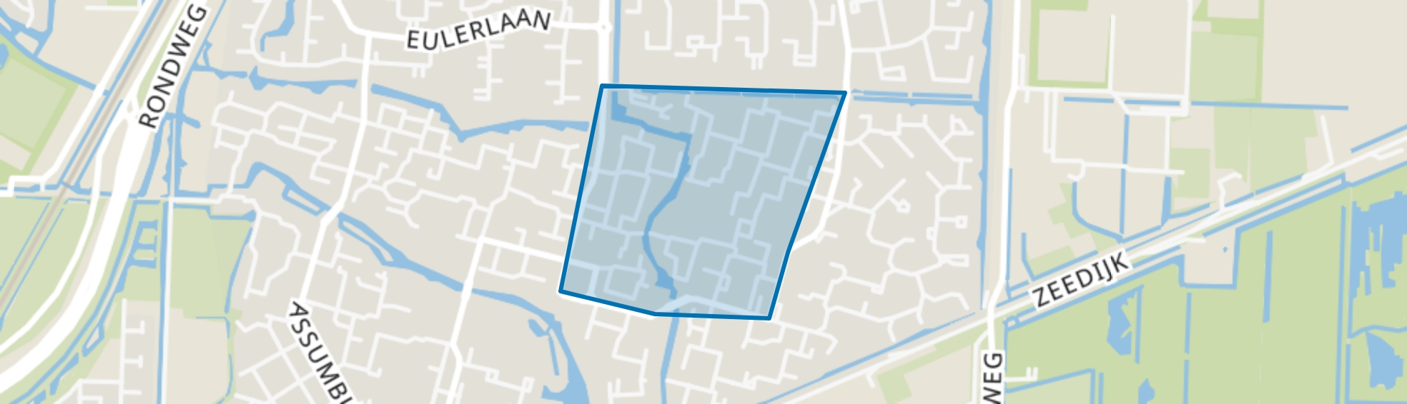 Zuilenburg en omgeving, Dordrecht map