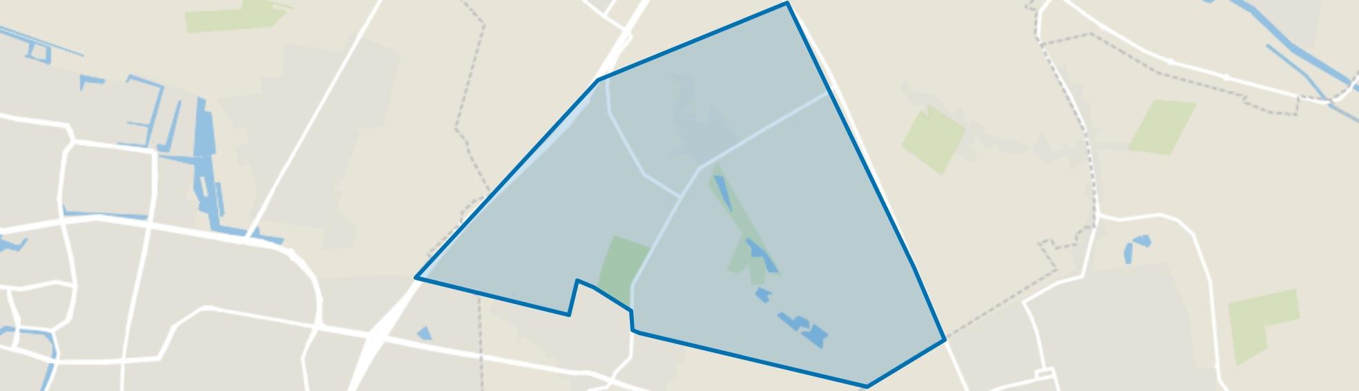 Bosgebied Dorst, Dorst map