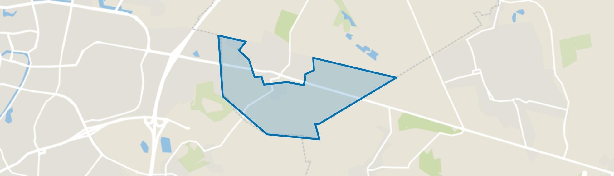 Buitengebied Dorst-Zuid, Dorst map