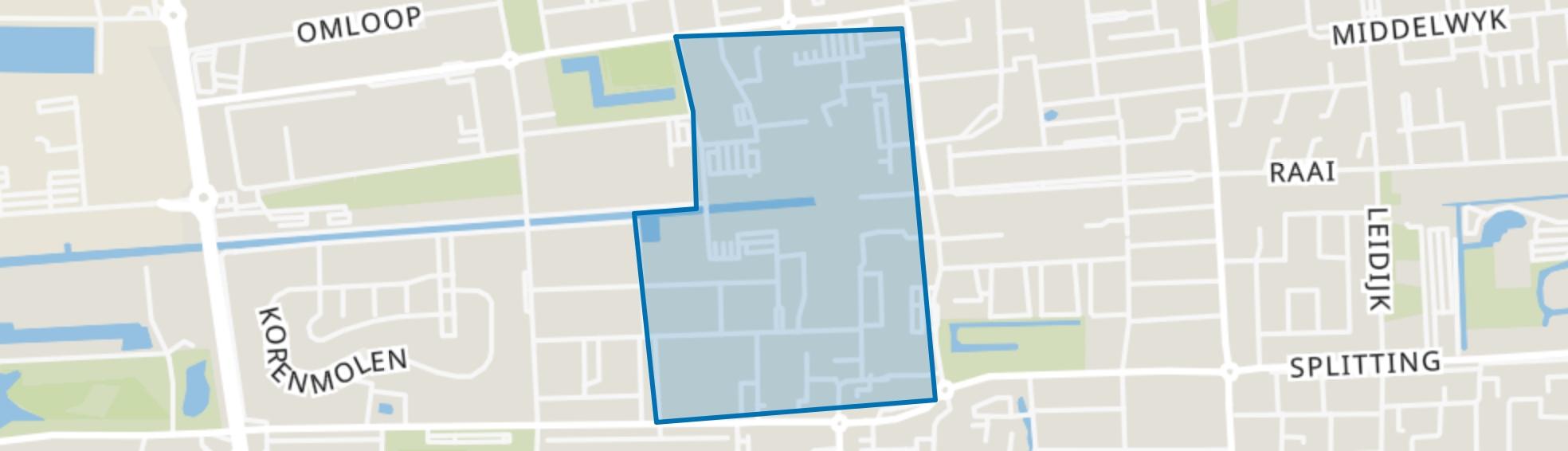 Centrum, Drachten map