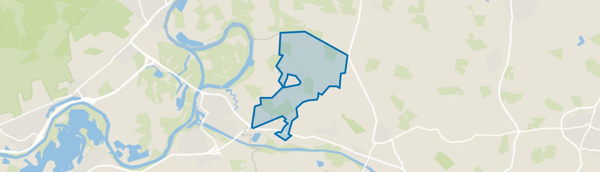 Verspreide huizen ten noorden van Drempt, Drempt map
