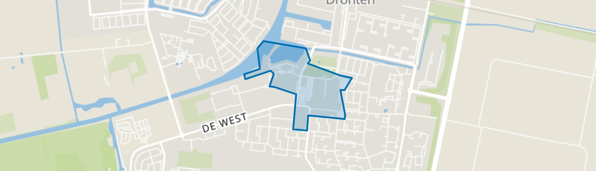 Centrum Dronten, Dronten map