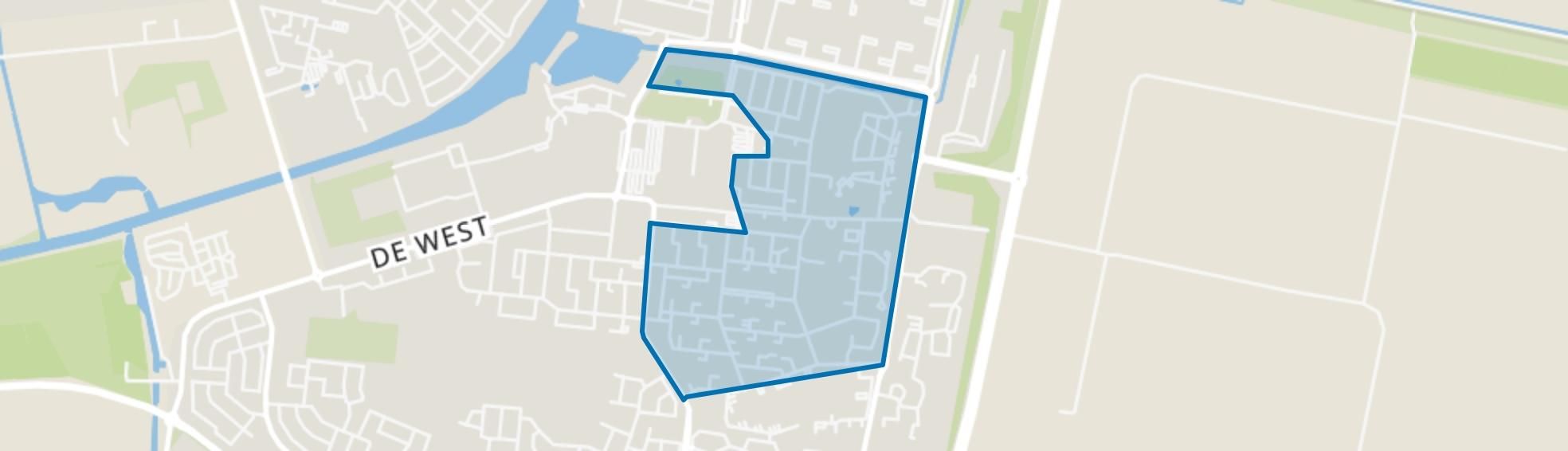 Oud-Dronten, Dronten map