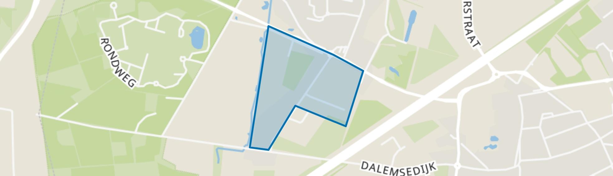 Bedrijventerrein Duizel, Duizel map