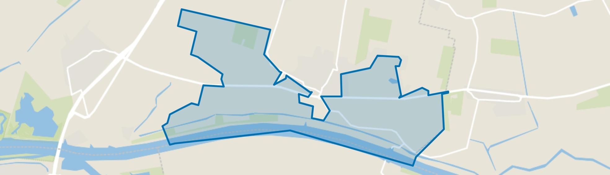 Buitengebied Dussen zuid, Dussen map
