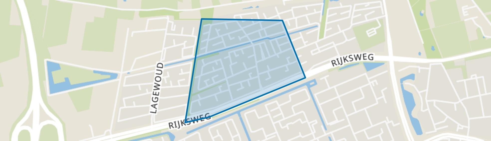 De Bossen, Ede map