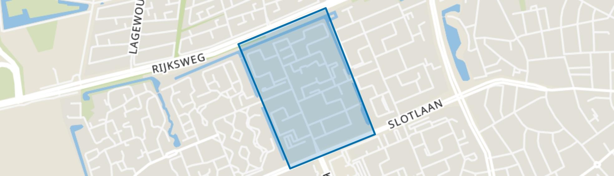 De Horsten, Ede map