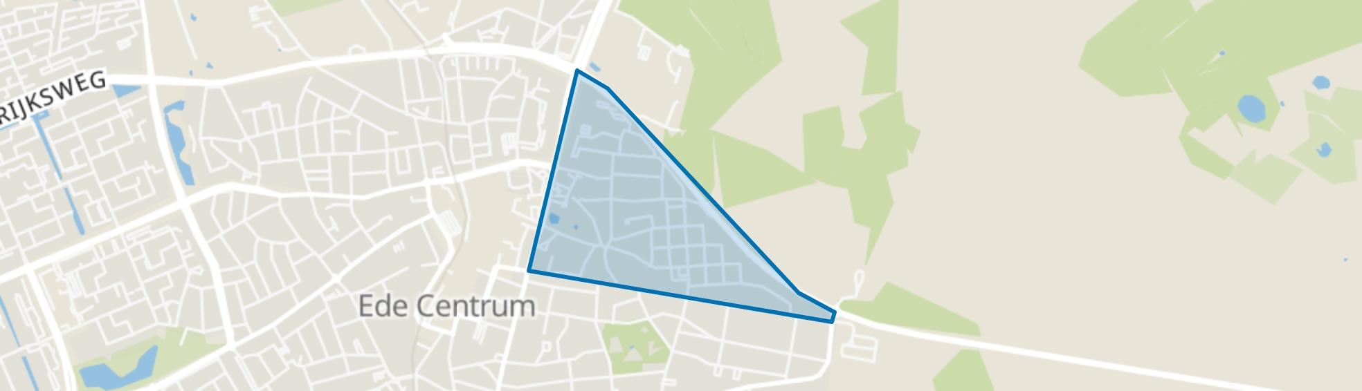Komponistenbuurt, Ede map
