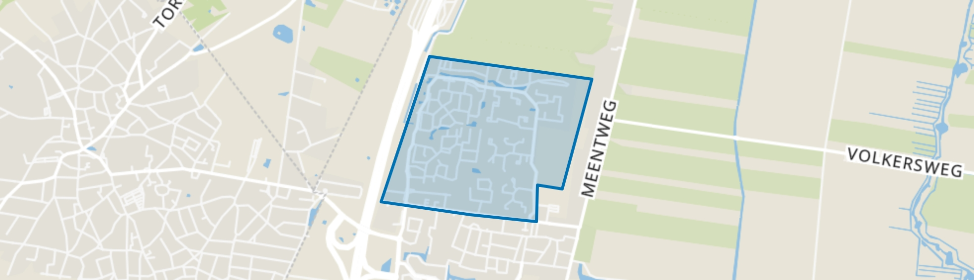 Noordbuurt, Eemnes map