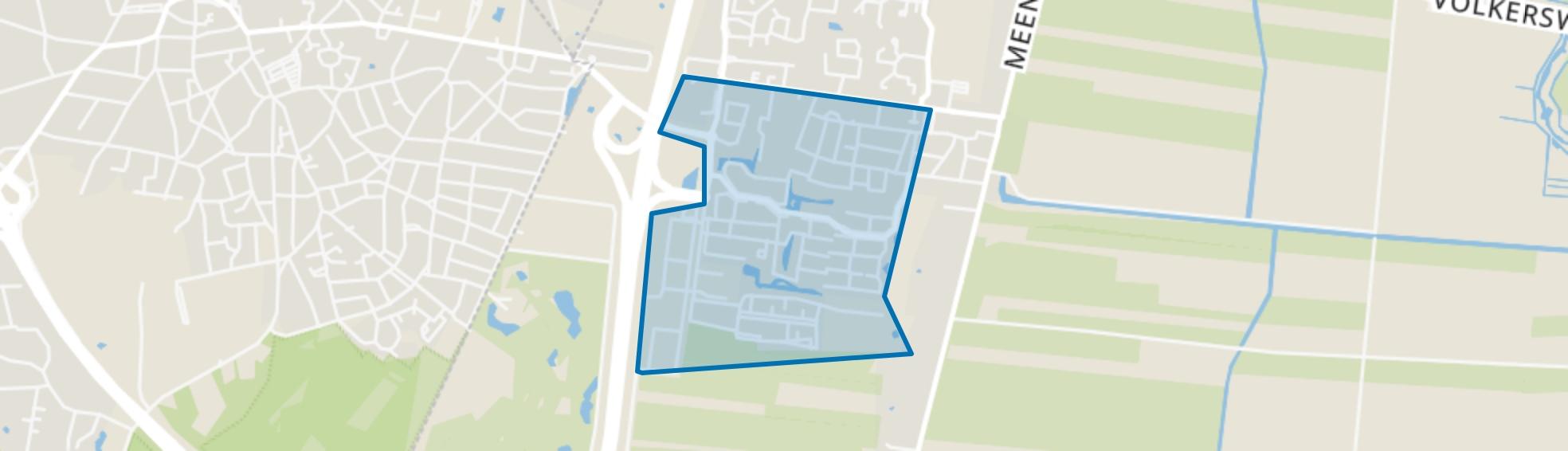 Zuidbuurt, Eemnes map