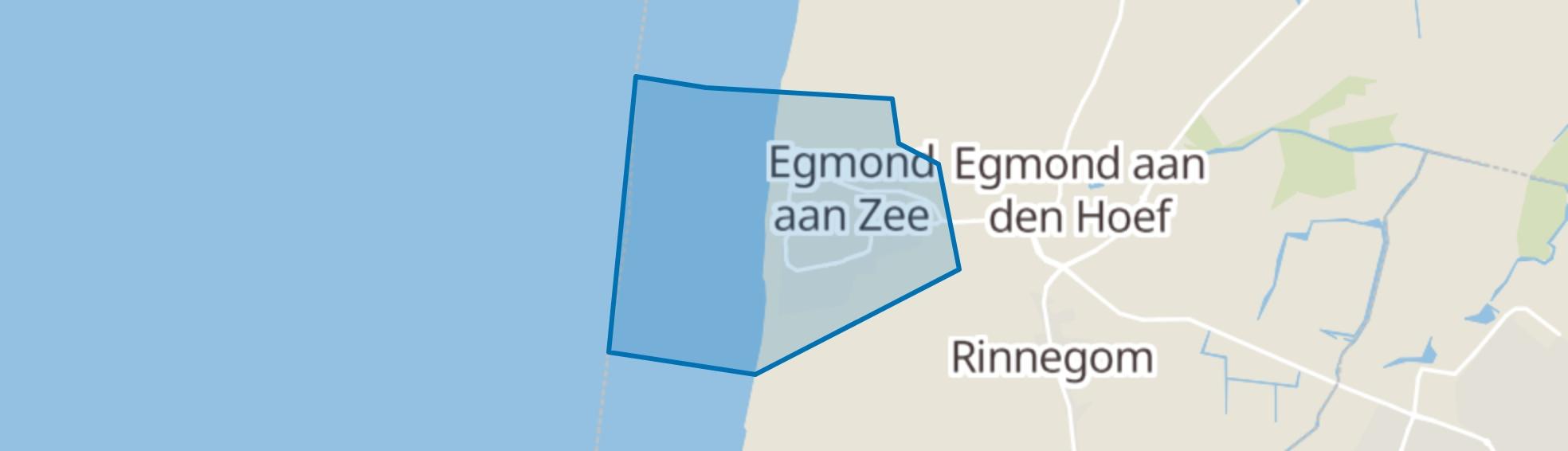 Egmond aan Zee map