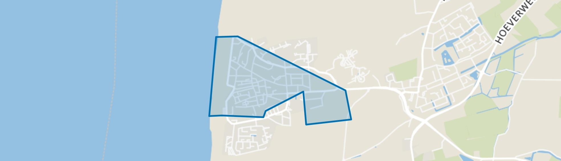 Egmond aan Zee, Egmond aan Zee map