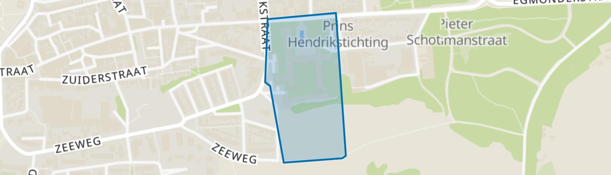 Prins Hendrik Stichting, Egmond aan Zee map