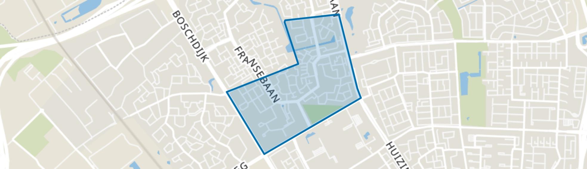 Achtse Barrier-Gunterslaer, Eindhoven map
