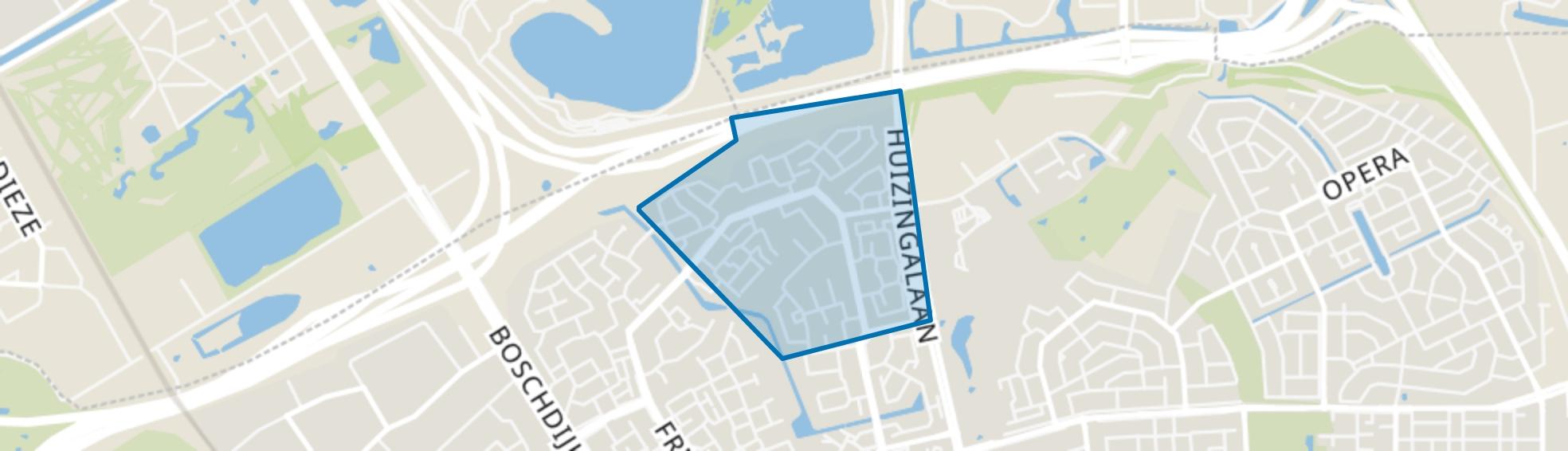 Achtse Barrier-Hoeven, Eindhoven map