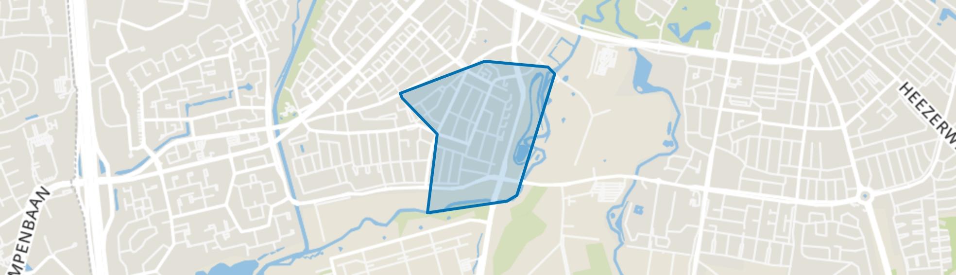 Bennekel-Oost, Eindhoven map