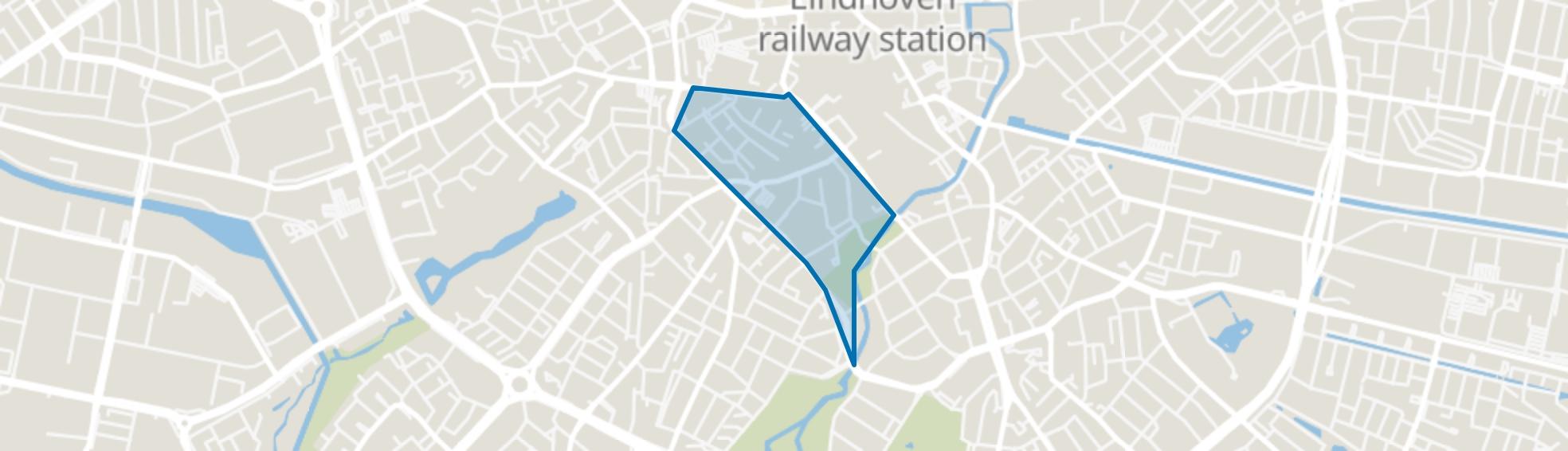 Bergen, Eindhoven map