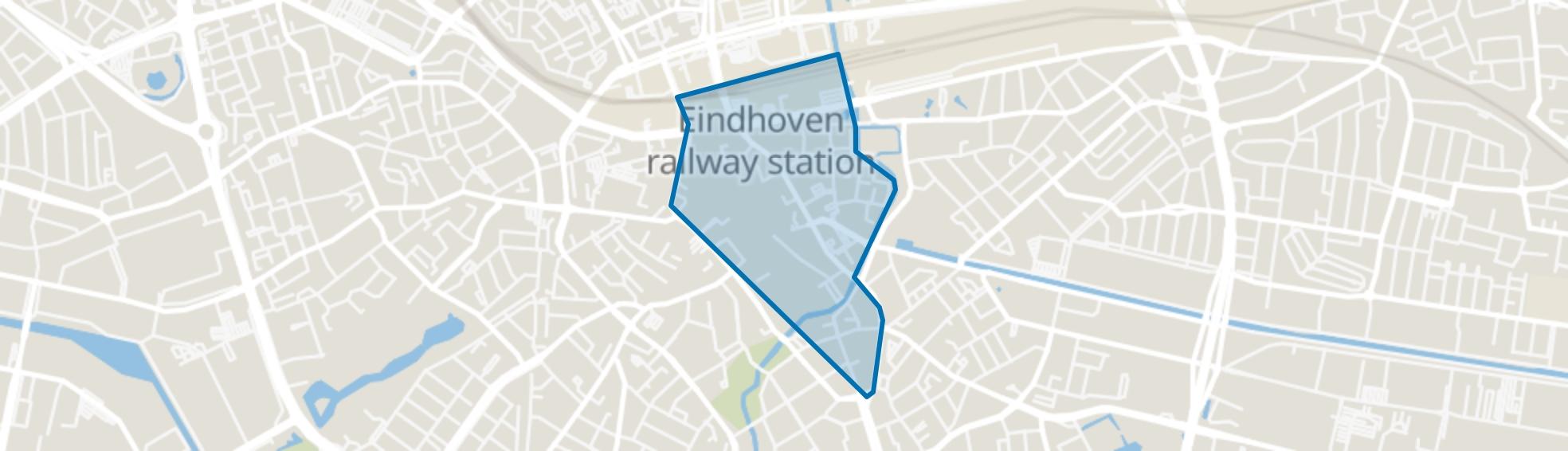 Binnenstad, Eindhoven map