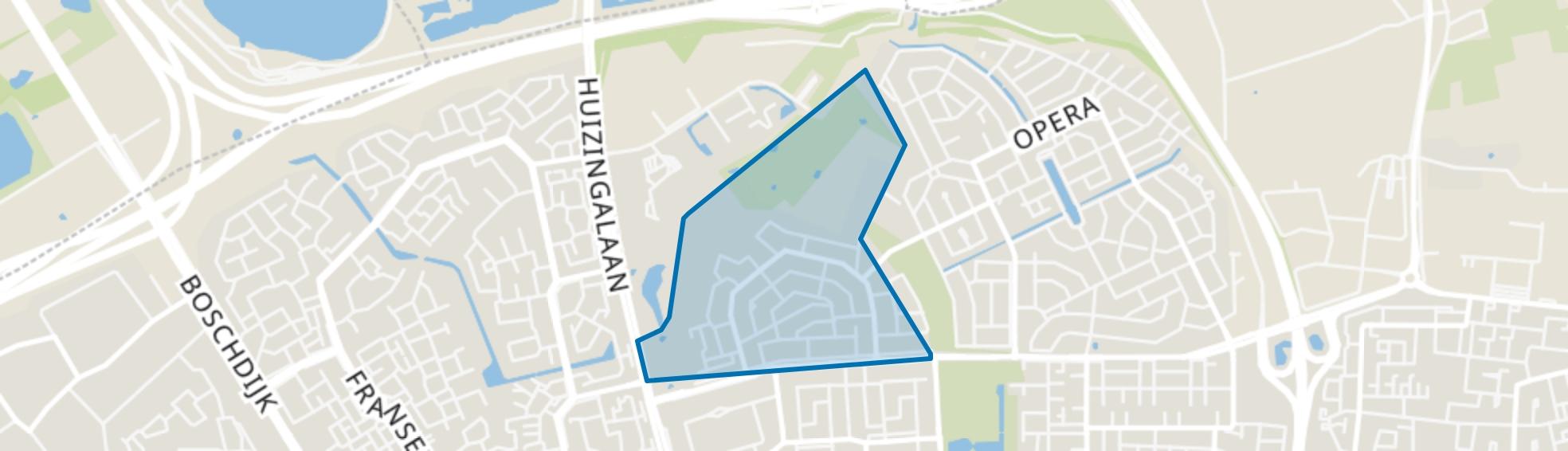 Blixembosch-West, Eindhoven map