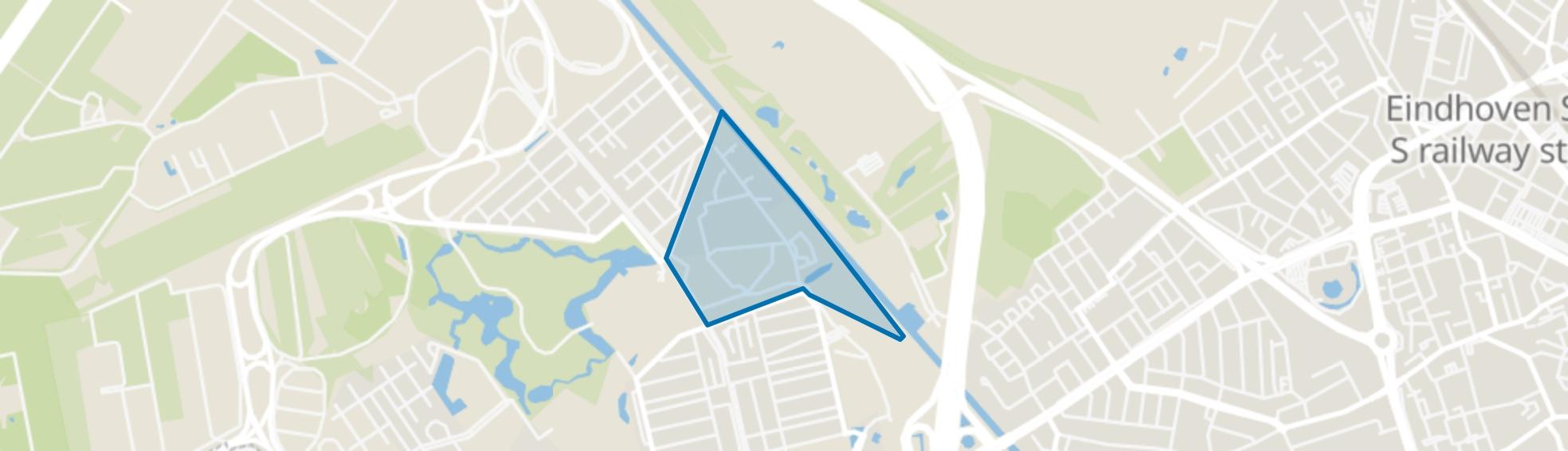 Bosrijk, Eindhoven map