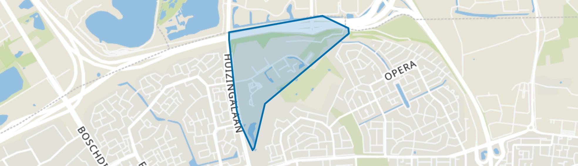 Castiliëlaan, Eindhoven map