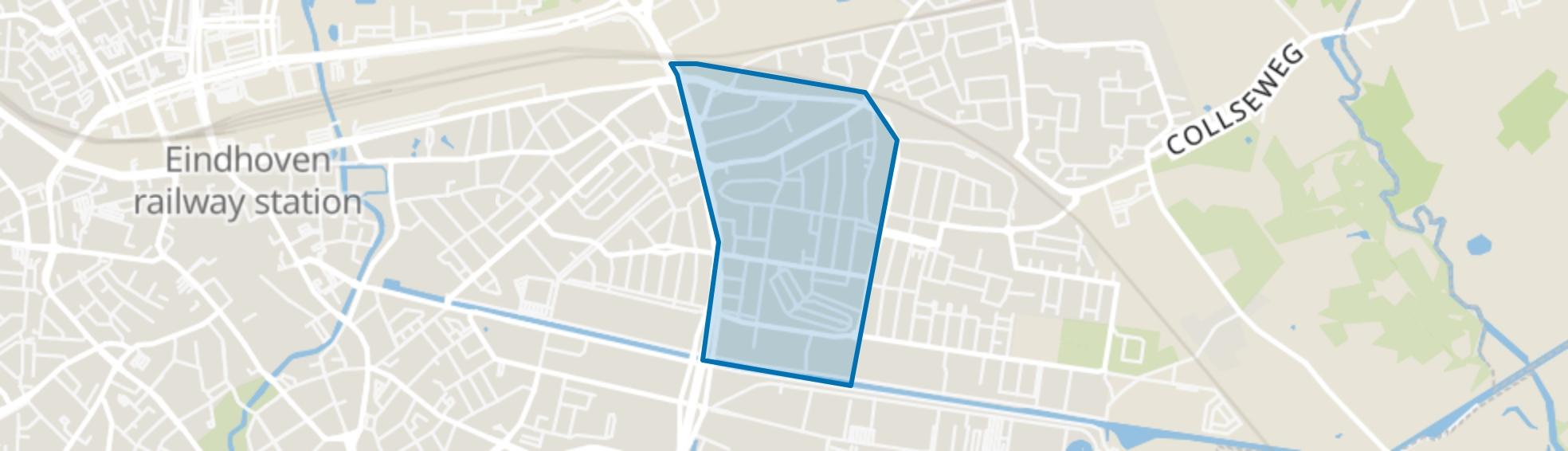 Doornakkers-West, Eindhoven map