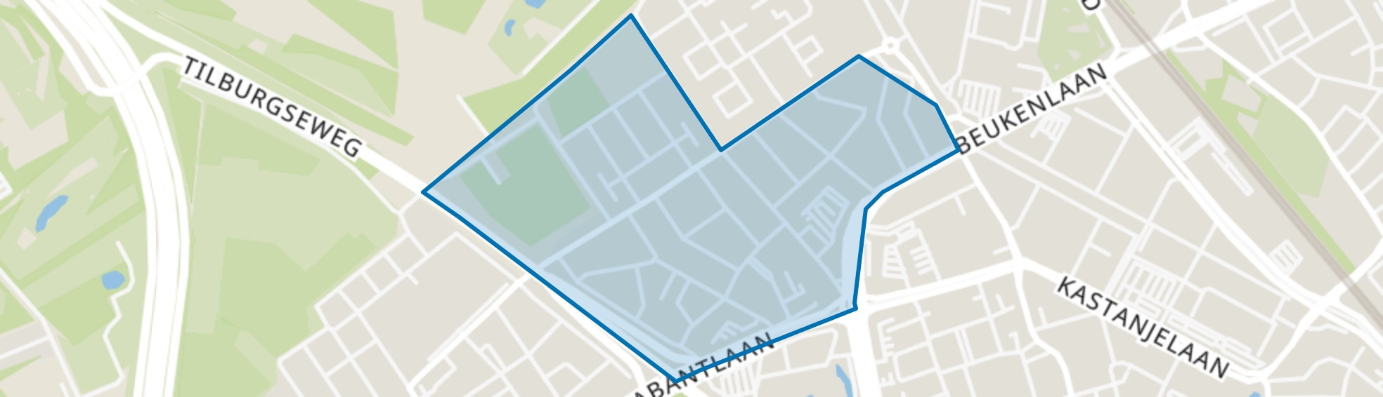 Drents Dorp, Eindhoven map