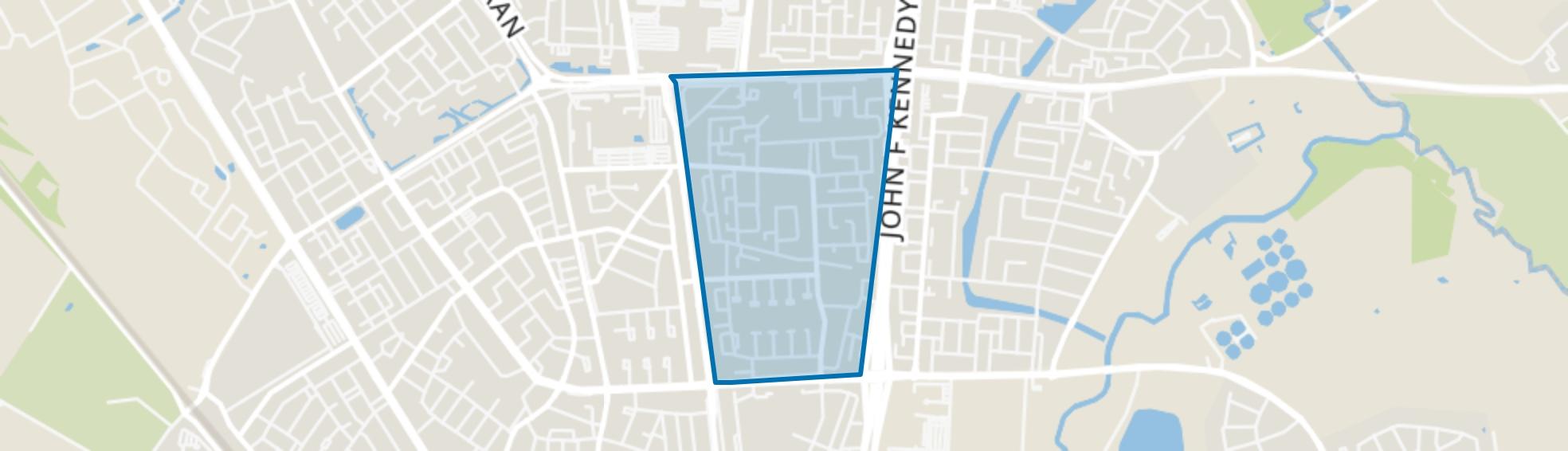 Generalenbuurt, Eindhoven map