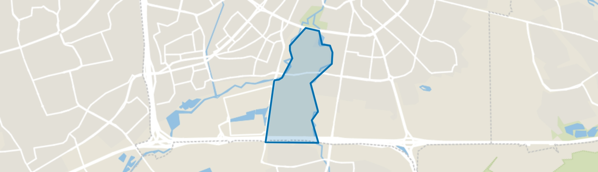 Gennep, Eindhoven map