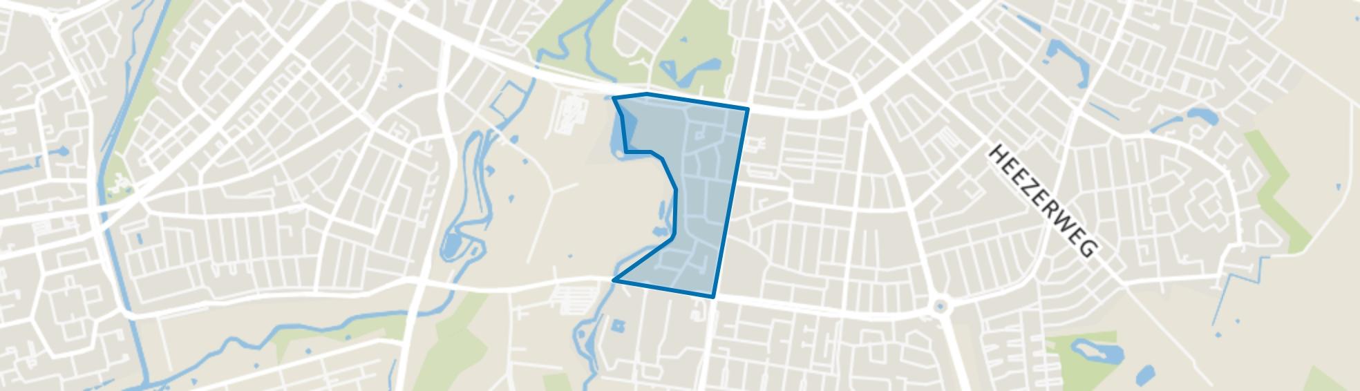 Genneperzijde, Eindhoven map