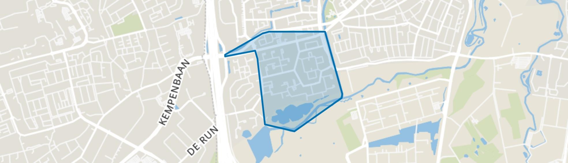 Hanevoet, Eindhoven map
