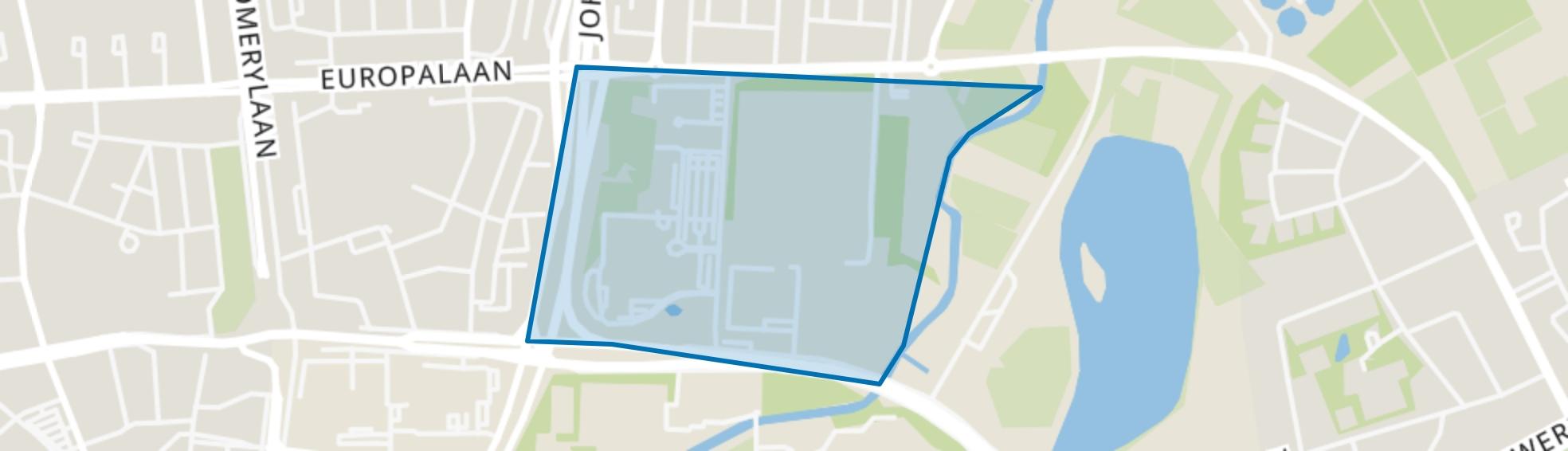 Hondsheuvels, Eindhoven map