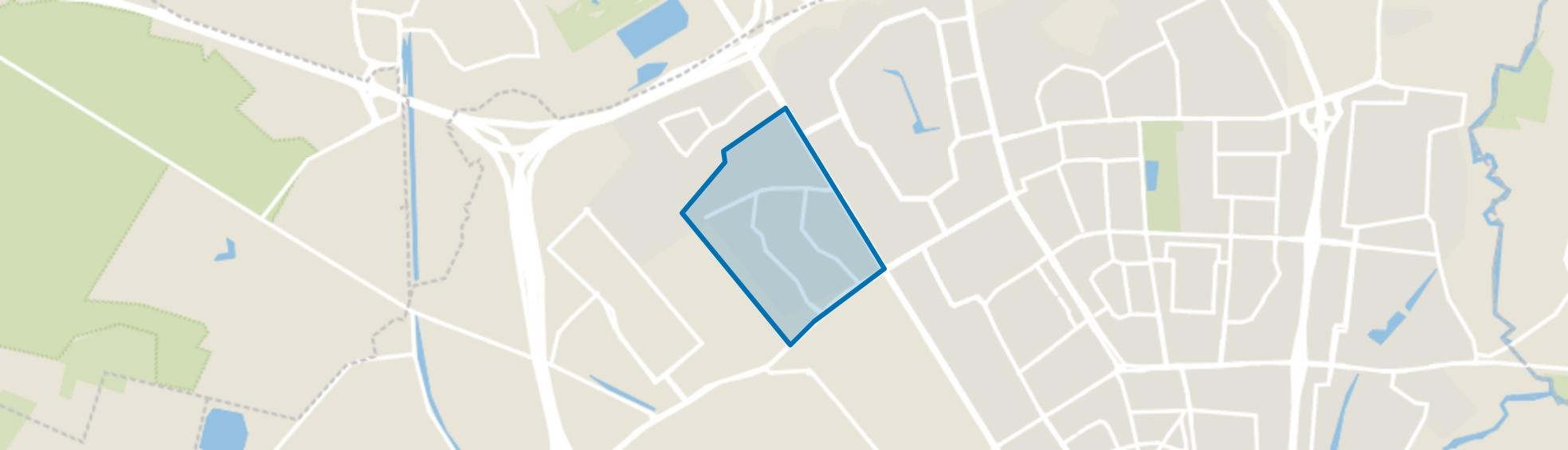 Kerkdorp Acht, Eindhoven map
