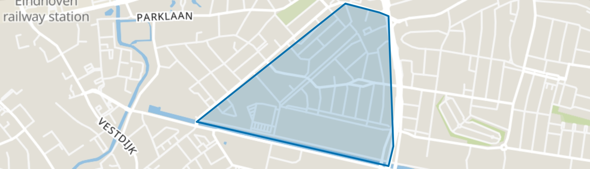 Lakerlopen, Eindhoven map