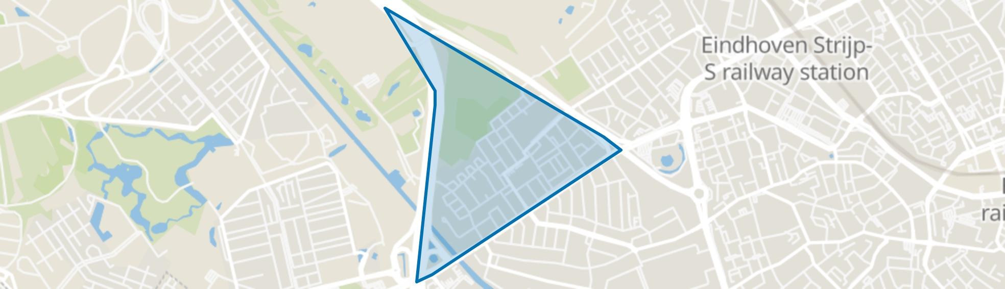 Lievendaal, Eindhoven map