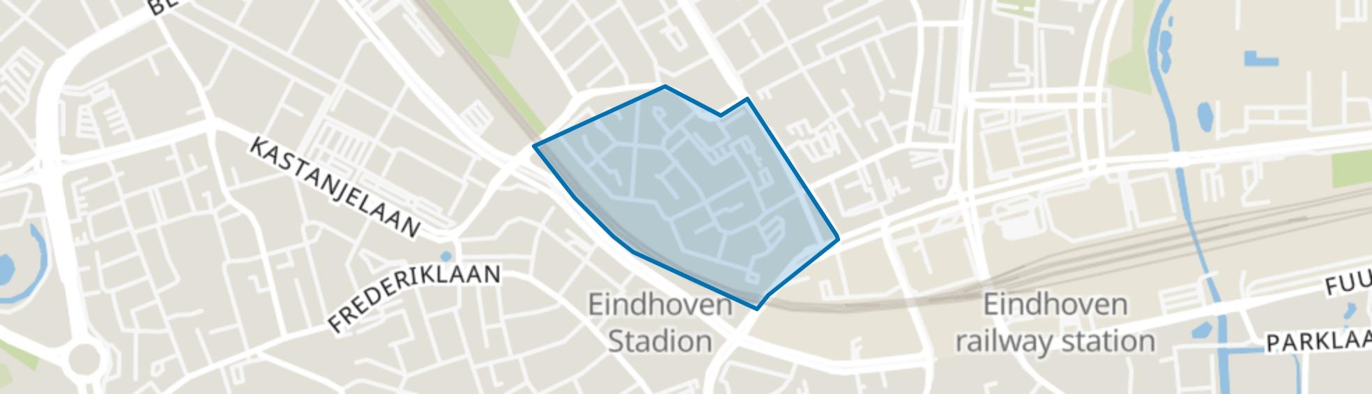 Limbeek-Zuid, Eindhoven map