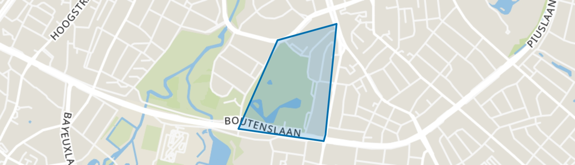 Looiakkers, Eindhoven map