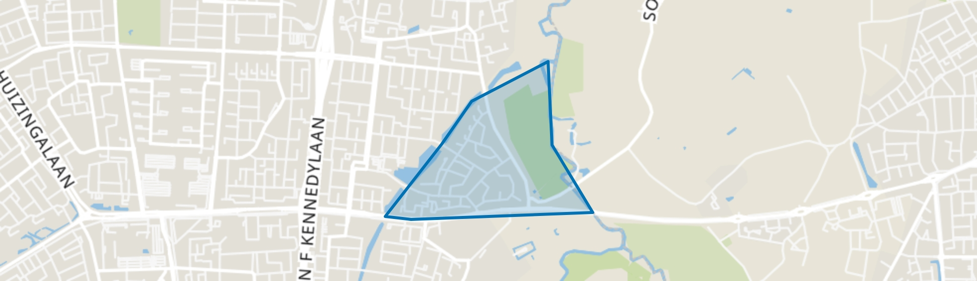 Luytelaer, Eindhoven map