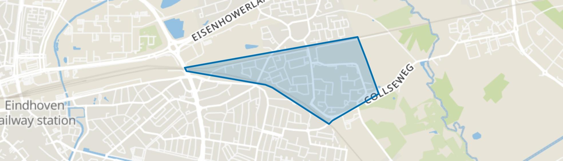 Muschberg, Geestenberg, Eindhoven map