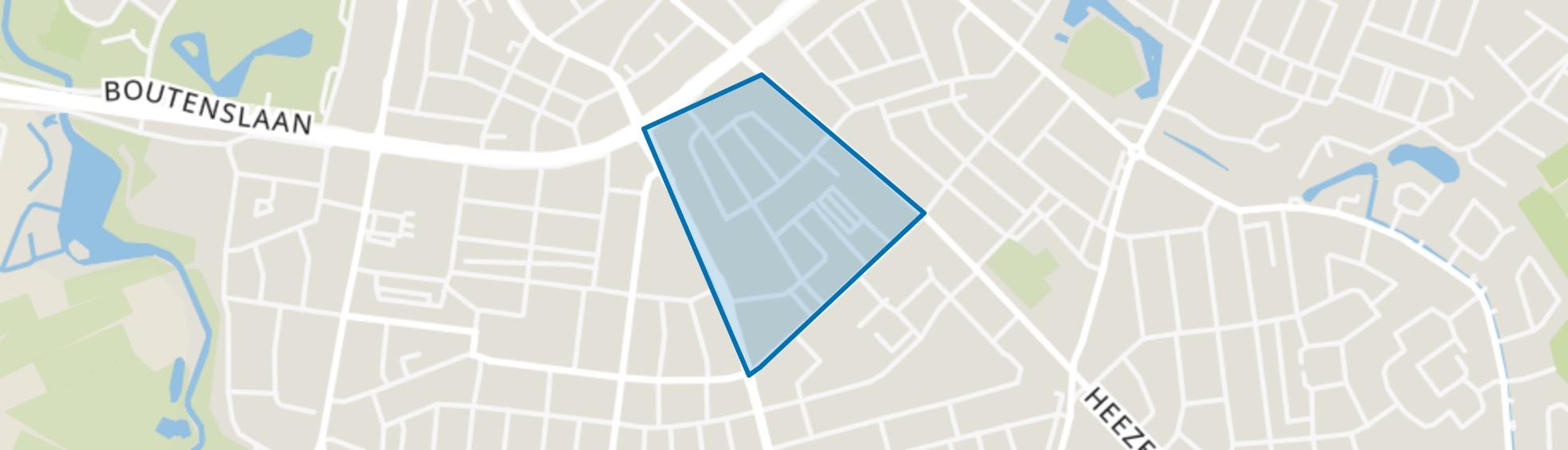 Nieuwe Erven, Eindhoven map