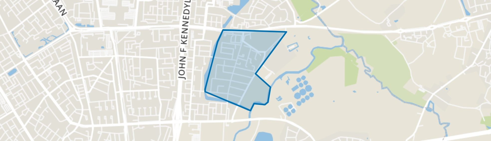 Oude Gracht-Oost, Eindhoven map