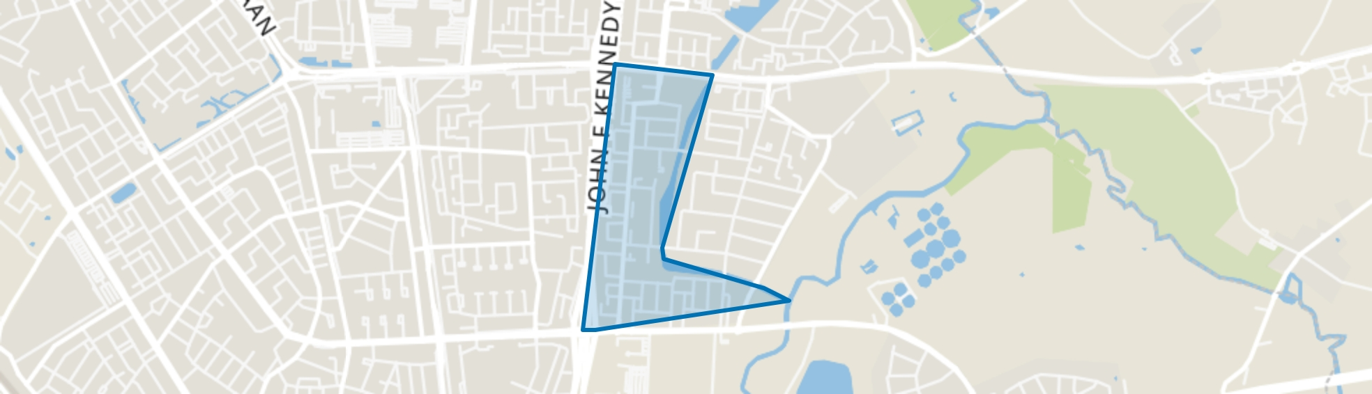 Oude Gracht-West, Eindhoven map