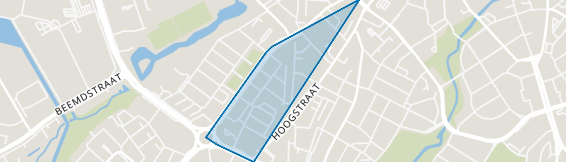 Oude Spoorbaan, Eindhoven map