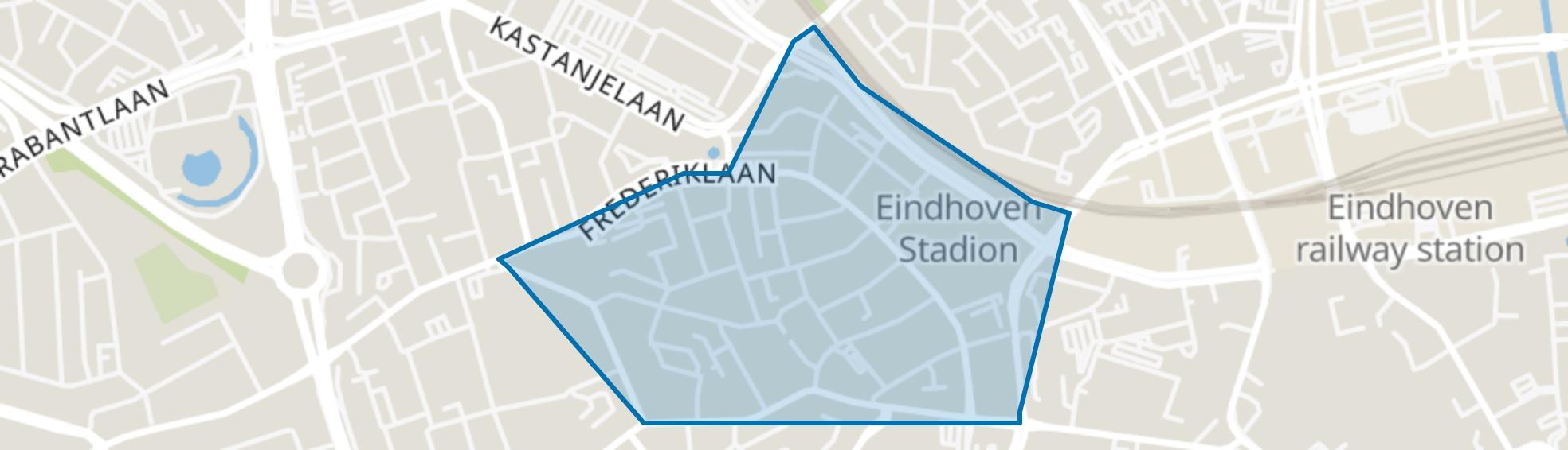 Philipsdorp, Eindhoven map