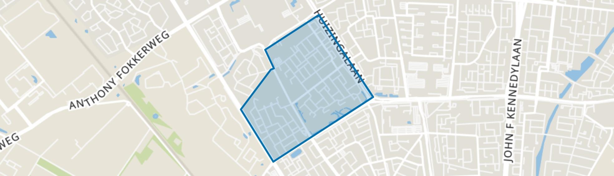Prinsejagt, Eindhoven map