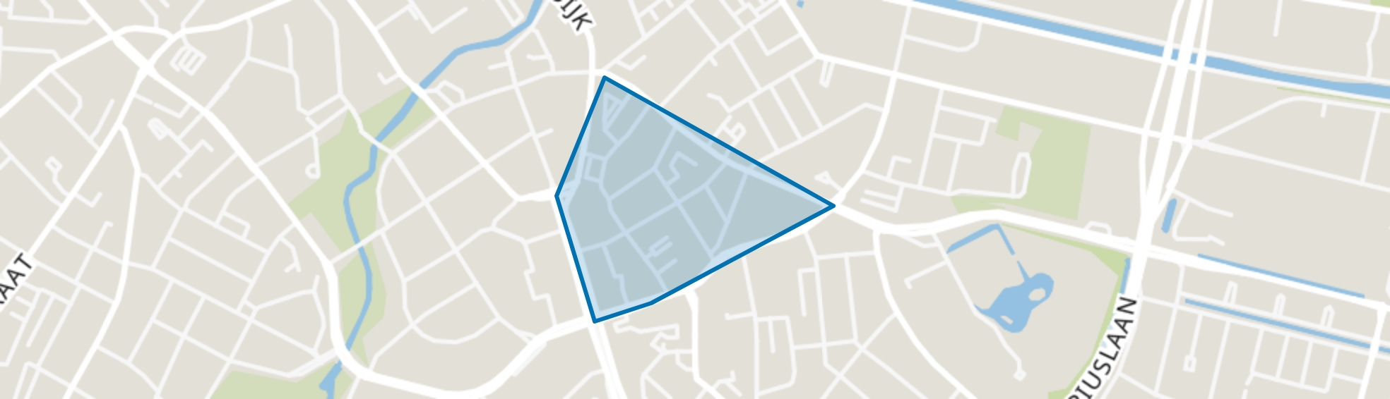 Rochusbuurt, Eindhoven map