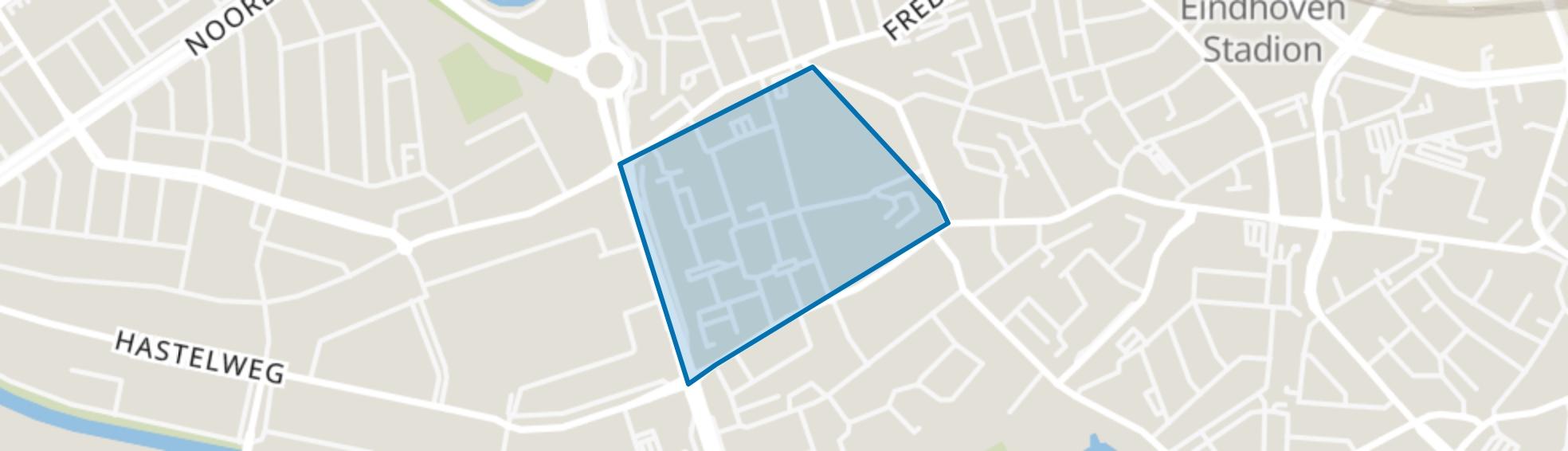Schouwbroek, Eindhoven map