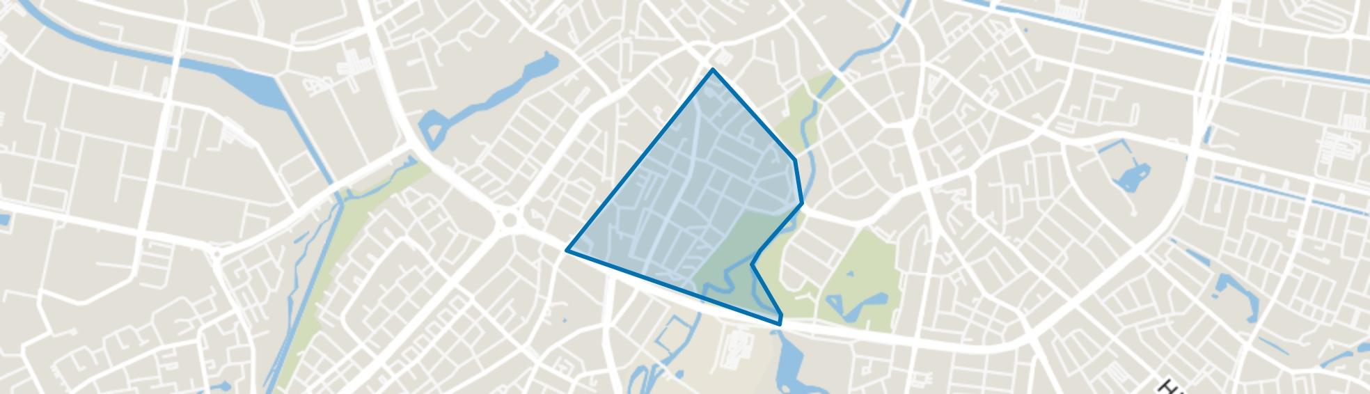 Schrijversbuurt, Eindhoven map
